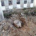Володарсько-Волинський район: снаряд під парканом знайшли та ліквідували
