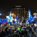 5 день Євромайдану: люди наметами заблокували Європейську площу