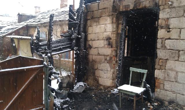 В Бердичеві  ліквідовано пожежу у житловому будинку