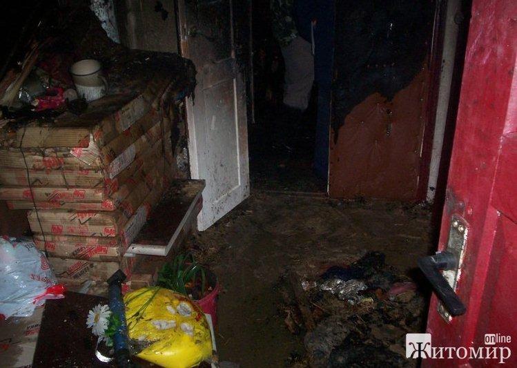 На пожаре в Житомирской области погиб 3-летний мальчик. ФОТО