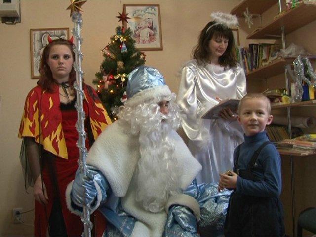Святий Миколай поселився в Бердичівській резиденції. ФОТО