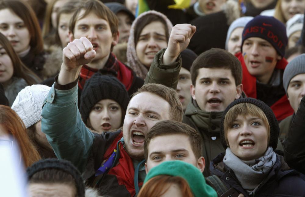 Студенти університету Драгоманова оголосили страйк. ФОТО