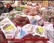 """Ціни на продукти """"заморозили"""" на період новорічних свят"""