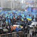 Учасники мітингу за Януковича готові навіть коментарі для журналістів продавати за 200 грн.