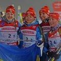 Українські біатлоністки здобули срібло Кубка світу