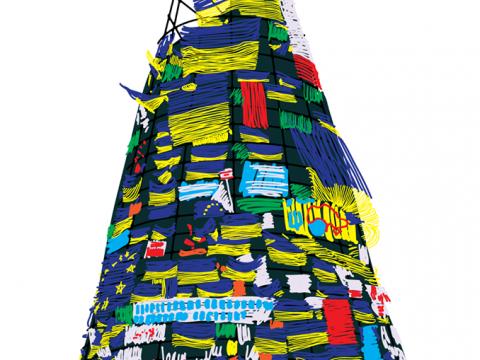 Листівка житомирського дизайнера з євроялинкою набуває популярності в інтернеті. ФОТО
