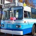 В Житомире в новогоднюю ночь проезд в троллейбусе будет бесплатным