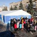 Житомирські діти отримали подарунки від справжнього Діда Мороза