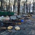 Київська мерія виставить рахунок за завдані Маріїнському парку збитки