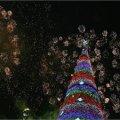 Радикальные мусульмане сожгли новогоднюю елку
