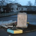 Милиция открыла уголовное производство по факту сноса памятника Ленину в Бердичеве