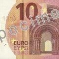 В ЄС презентували нову банкноту в 10 євро. ФОТО ВІДЕО