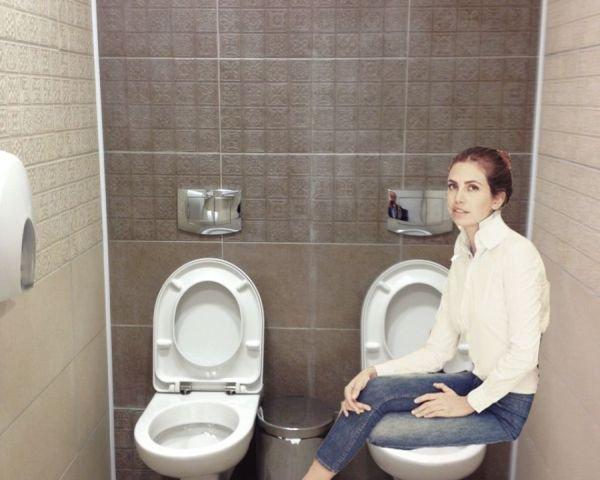 Сочинський дабл-туалет у фотожабах. ФОТО