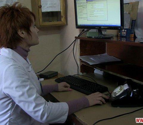 У житомирській поліклініці почали вести електронний реєстр пацієнтів  ВІДЕО. ФОТО