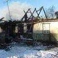 На Житомирщині під час пожежі у приватному житловому будинку отримав опіки літній чоловік