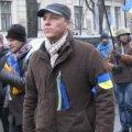Колонна активистов обошла правительственный квартал и вернулась на Майдан