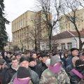 Рівненські активісти не пустили в своє місто автобус, яким керував житомирянин