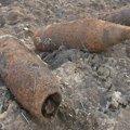 На Житомирщині виявлено десять артилерійських снарядів часів війни