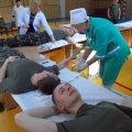 В Житомирському військовому інституті ім. С.П. Корольова курсанти здають кров для поранених військових