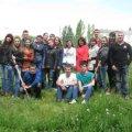 Студенти ЖДТУ саджали дерева