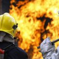 У Житомирі пожежники ліквідовували пожежу в  5-поверховому житловому будинку