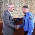 З нагоди професійного свята дільничних нагородили грамотами та вручили нові звання