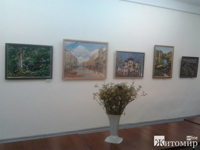 У Житомирі проходить виставка талановитого художника Ігоря Воропая