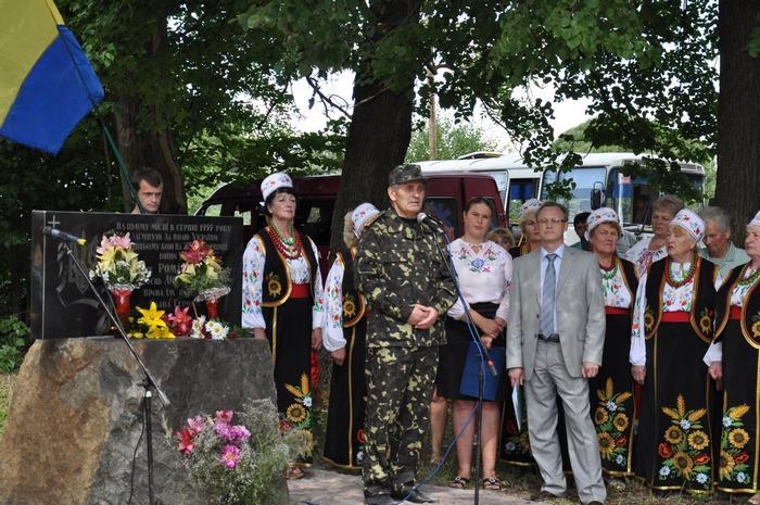 На Житомирщині вшанували світлу пам'ять героїв останнього бою УПА