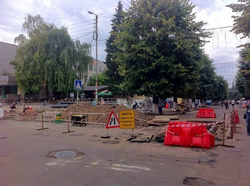 У Житомирі проходить капремонт тепломережі вулиці Михайлівській. ФОТО