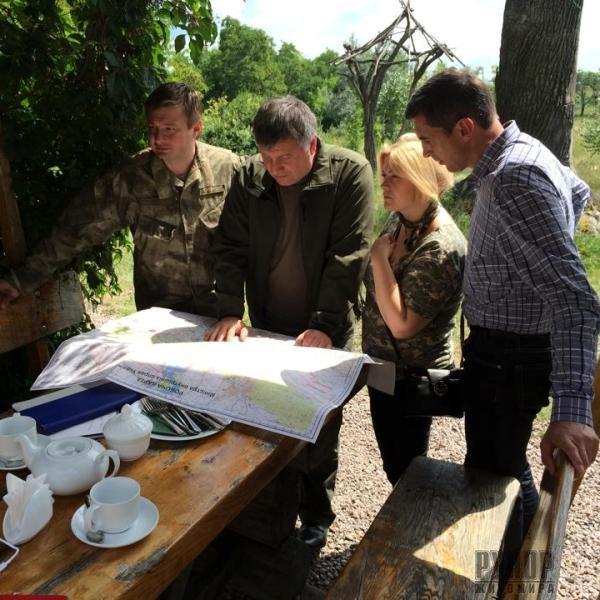 Сидір Кізін зустрівся з військовослужбовцями 95-ї аеромобільної бригади в зоні АТО