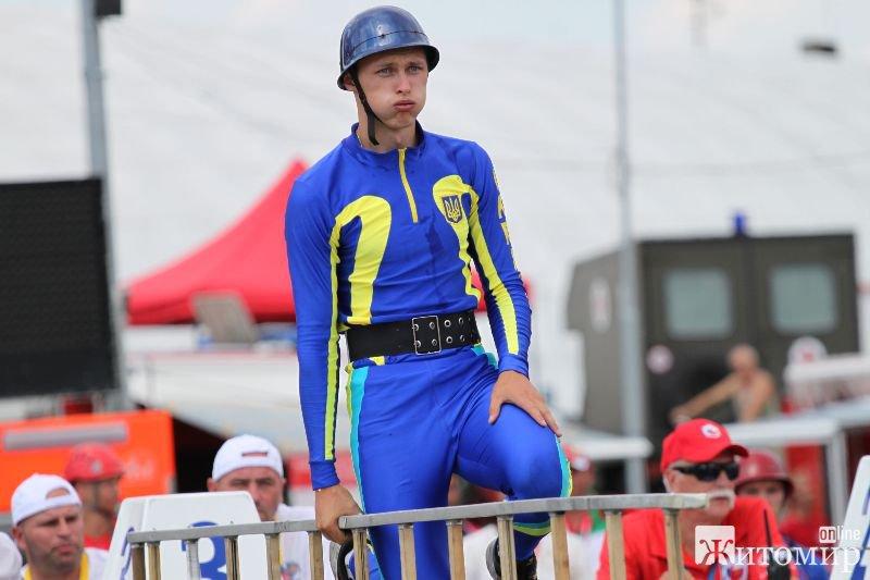 Житомирянин Юрій Кравченко отримав бронзу на Чемпіонаті світу з пожежно-прикладного спорту серед юнаків