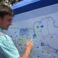 Всеукраїнська акція «Україна Єдина», яка стартувала в Житомирі сьогодні дійшла до Львову