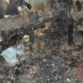 В Бердичеві у вогні загинув 50-річний чоловік