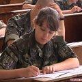 Абітурієнти житомирського військового інституту складають вступні іспити в польових умовах