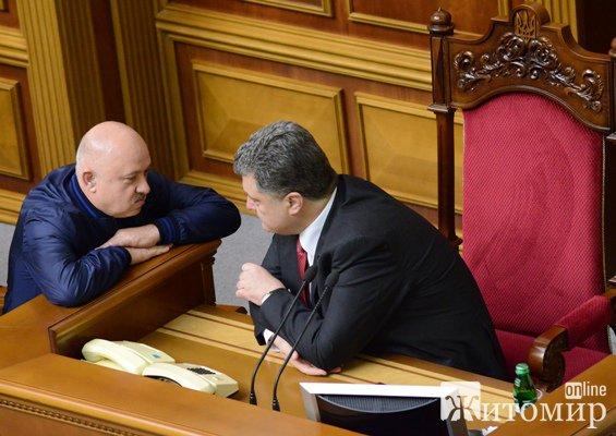 Президент України заперечив підтримку «Блоком Петра Порошенка» кандидатури Володимира Кропивницького у 67-му мажоритарному окрузі