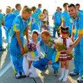 Порошенко призначив стипендії житомирським спортсменам