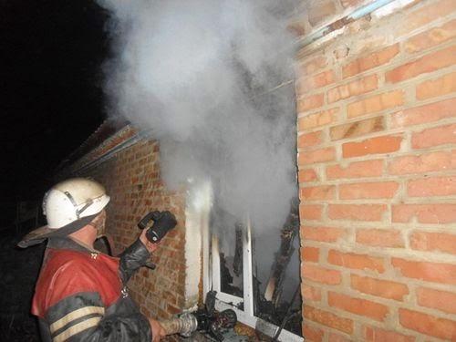 На Житомирщине из-за невыключенного утюга едва не сгорел дом. ФОТО