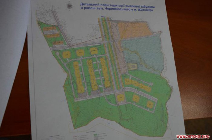 Влада Житомира хоче виставити на аукціон 6 га землі біля річки Тетерів, щоб там побудували новий мікрорайон