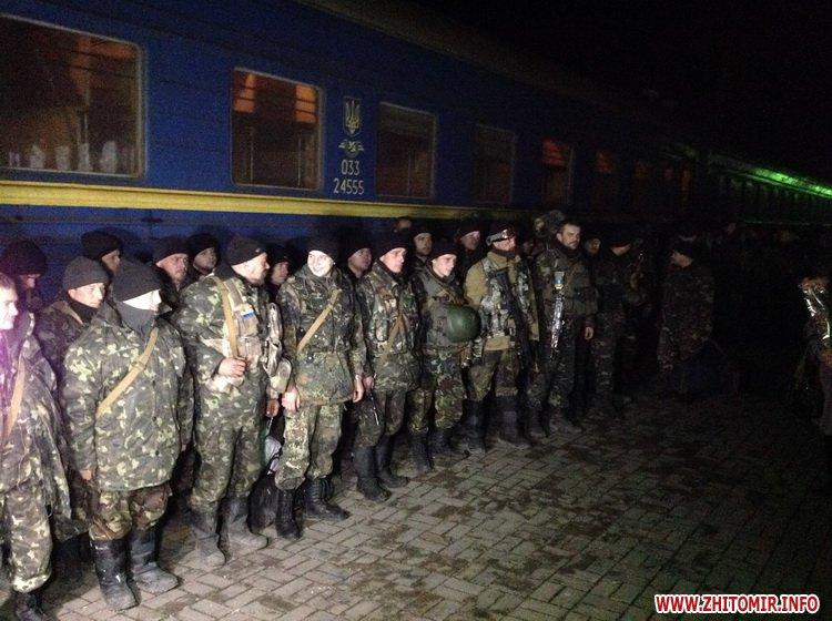 У Новограді-Волинському зустрічають бійців 10-го батальйону, які півроку не були вдома