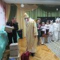 Рятувальники у костюмах Святого Миколая вітали дітей в Денишах