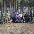 На Житомирщині екологи з лісівниками та дітьми висадили лісу площею 1,1 га