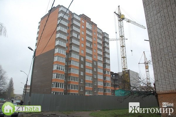 Набережный квартал в Житомире уже продал почти все квартиры
