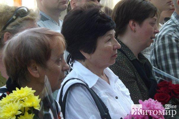 """В Житомирі відкрили дошку """"кіборгу"""", який загинув у день свого 24-річчя. ФОТО"""
