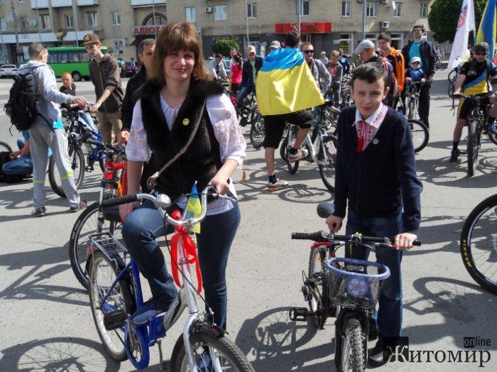 У Житомирі розпочався велодень. ФОТО
