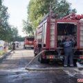 Житомирський водоканал перевіряє гідранти на Корбутівці після пожежі у «Relax»