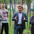 Ініціатива Сергія Сухомлина продовжила міський благоустрій