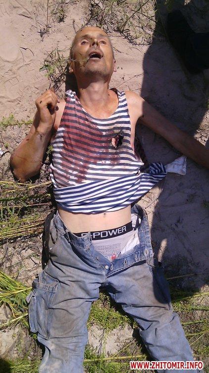 На Мар'янівці у Житомирі знайшли тіло чоловіка у тільняшці, міліція просить впізнати