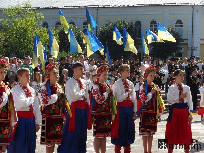 У Житомирі відзначають День незалежності України: фотофакти