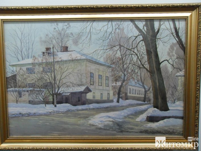 Художники подарували житомирянам виставку картин до Дня міста
