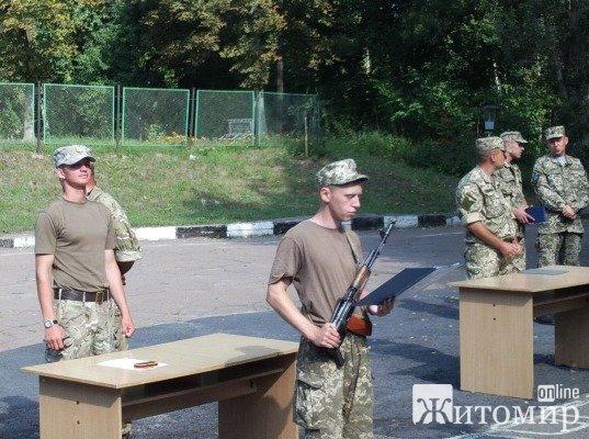 На Житомирщині мобілізовані десантники прийняли Військову присягу. ФОТО